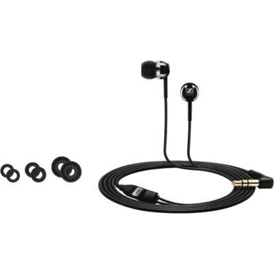In Ear CX1.00 Black Headphones