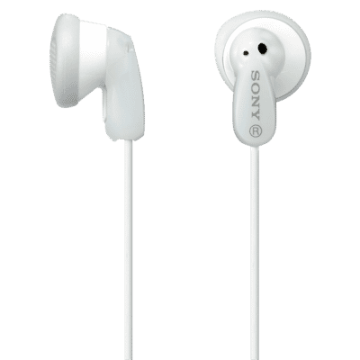 In Ear MDRE9LPWI White Headphones