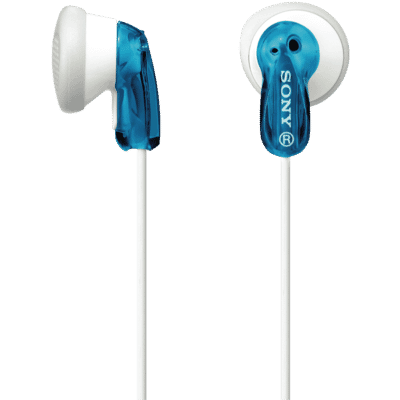 In Ear MDRE9LPL Blue Headphones